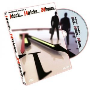 1DECK… 14TRICKS… 24HOURS… #2 BY MATTHEW J. DOWDEN ON DVD